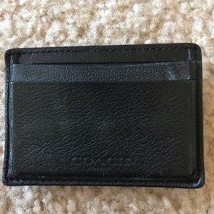 Coach slim wallet